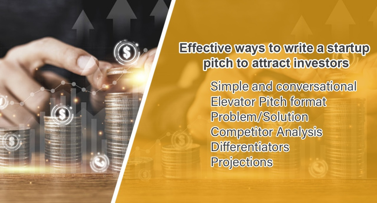 Effective ways to prepare a pitch for investors..