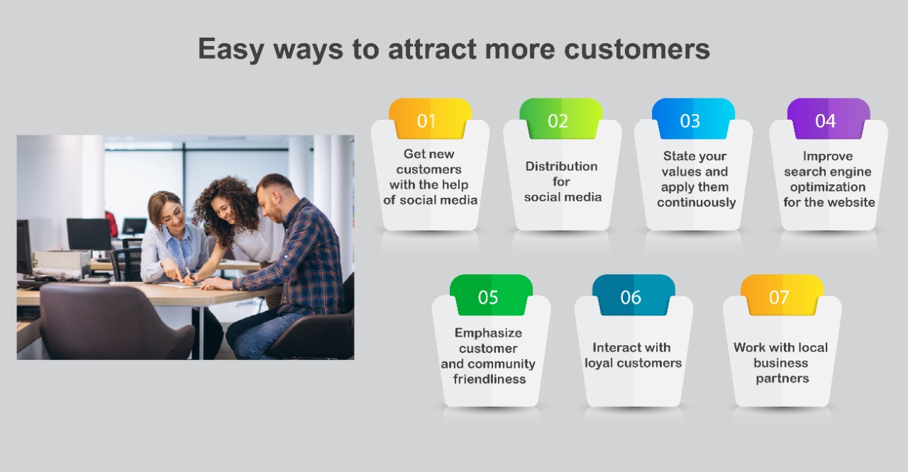 Easy ways to attract more customers