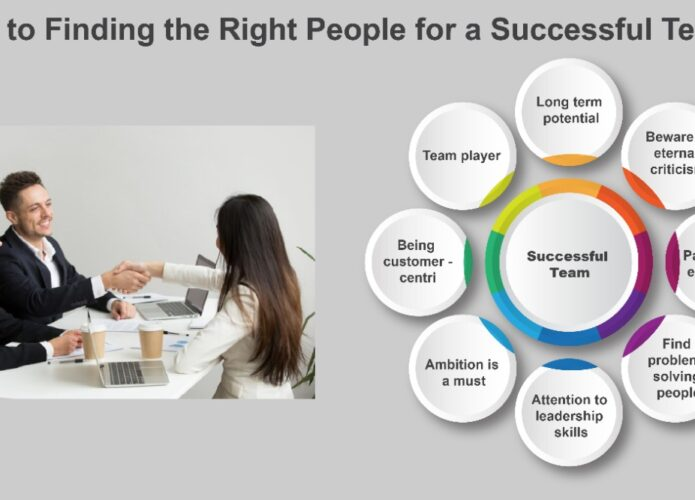 Tips to finding the right people for a successful team